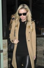 PARIS and NICKY HILTON Arrives at Sexy Fish Restaurant 11/16/2015