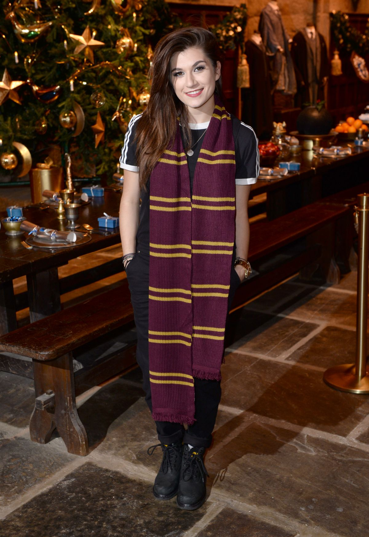 PARISA TARJOMANI at Hogwarts in the Snow Launch at Warner Bros. Studio Tour London in Watford 11/12/2015