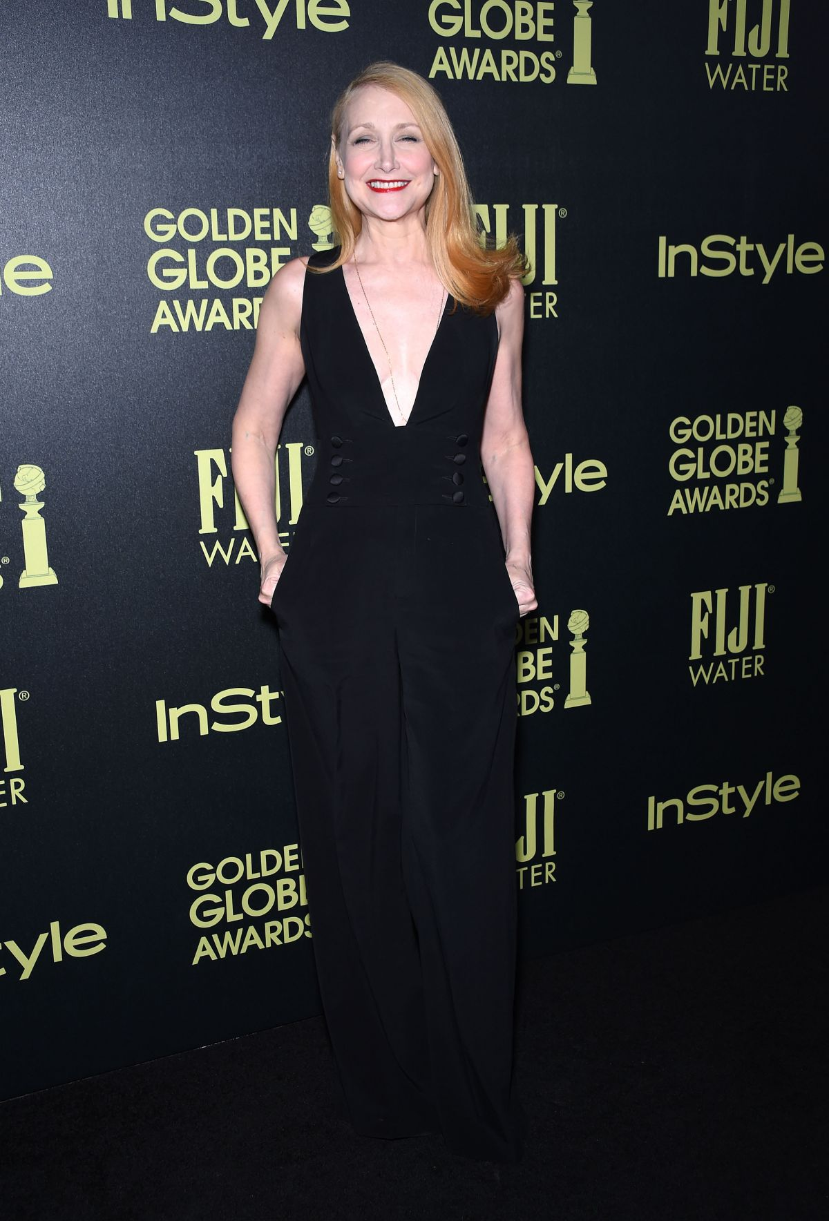 PATRICIA CLARKSON at hfpa and Instyle Celebrate 2016 Golden Globe Award Season in West Hollywood 11/17/2015