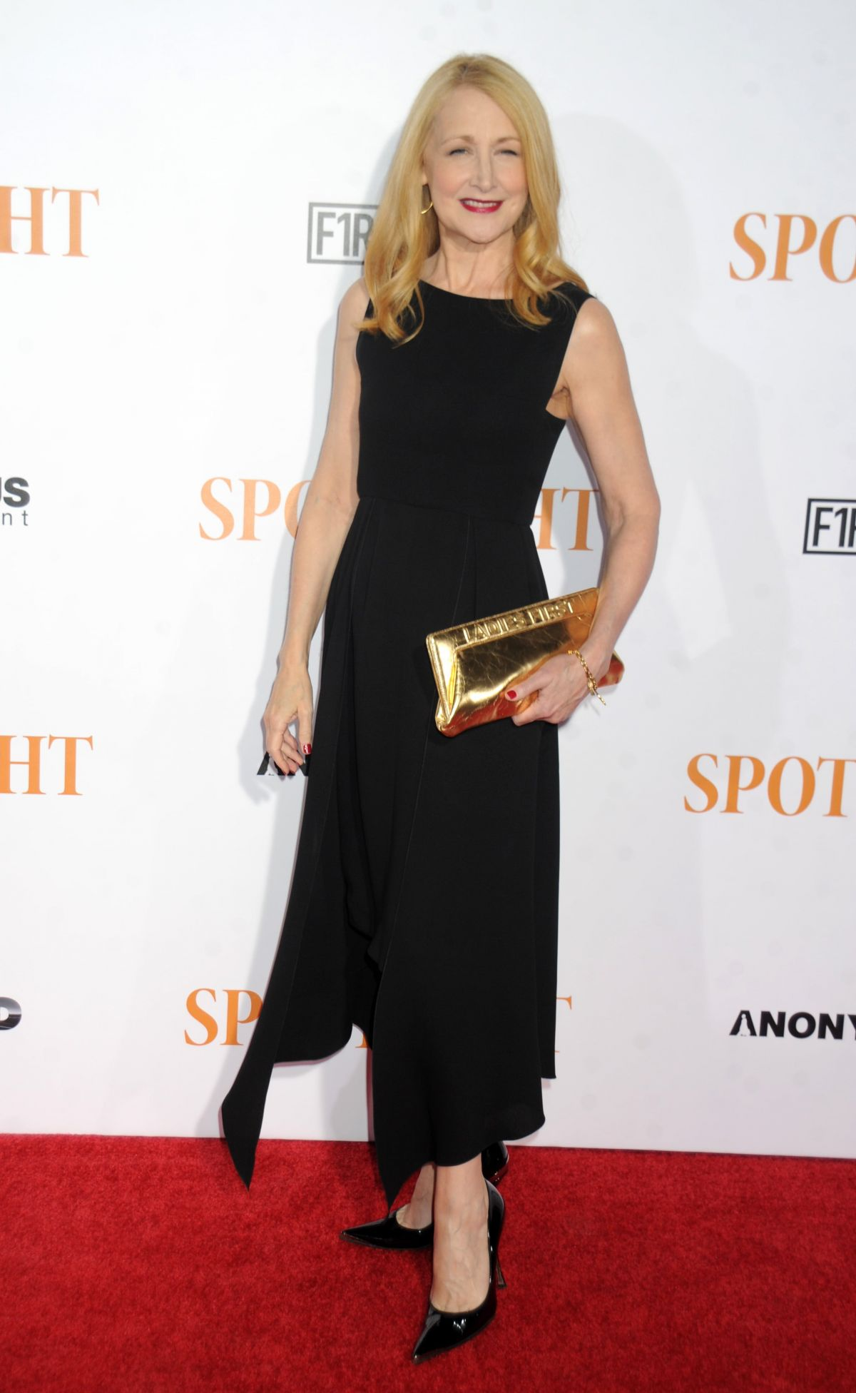 PATRICIA CLARKSON at Spotlight Premiere in New York 10/27/2015