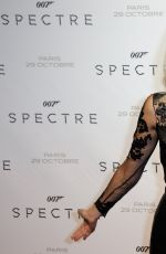 PAULINE LEFEVRE at Spectre Premiere in Paris 10/29/2015