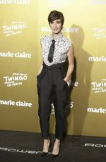 PAZ VEGA at 2015 Marie Claire Prix De La Moda in Madrid 11/19/2015