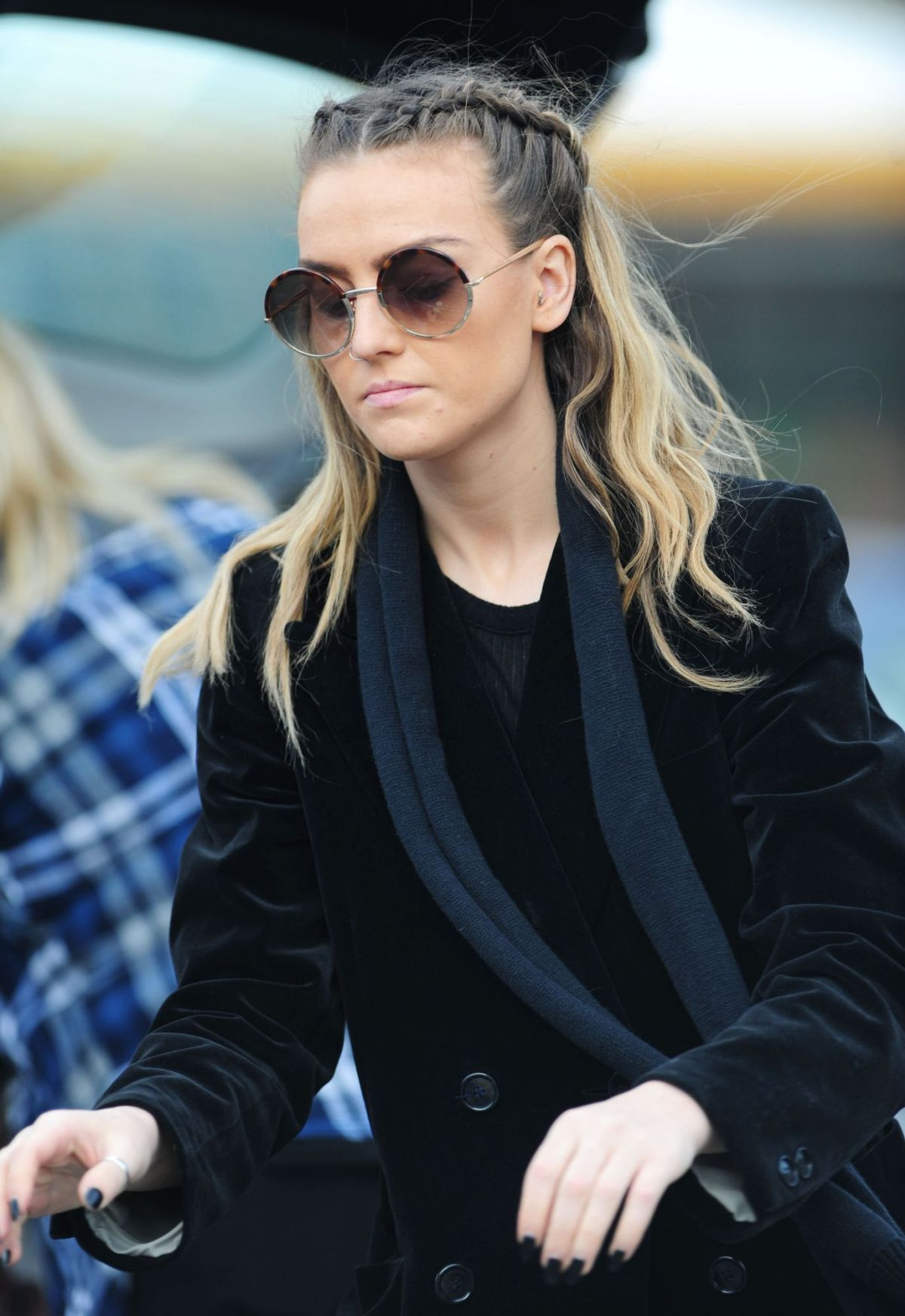 PERRIE EDWARDS Out Shopping in London 11/23/2015 ...