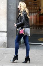 PEYTON LIST Out and About in London 11/02/2015