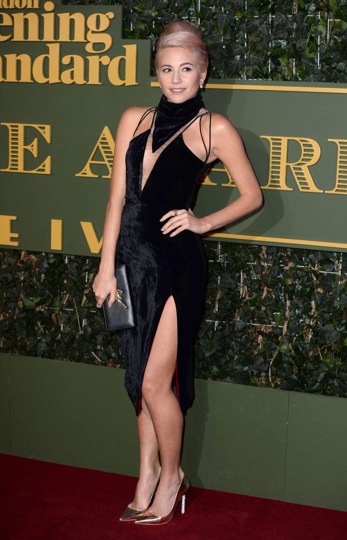 PIXIE LOTT at Evening Standard Theatre Awards in London 11/22/2015