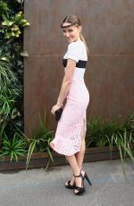 RACHEL FINSH at Stakes Day at Flemington Racecourse in Melbourne 11/07/2015