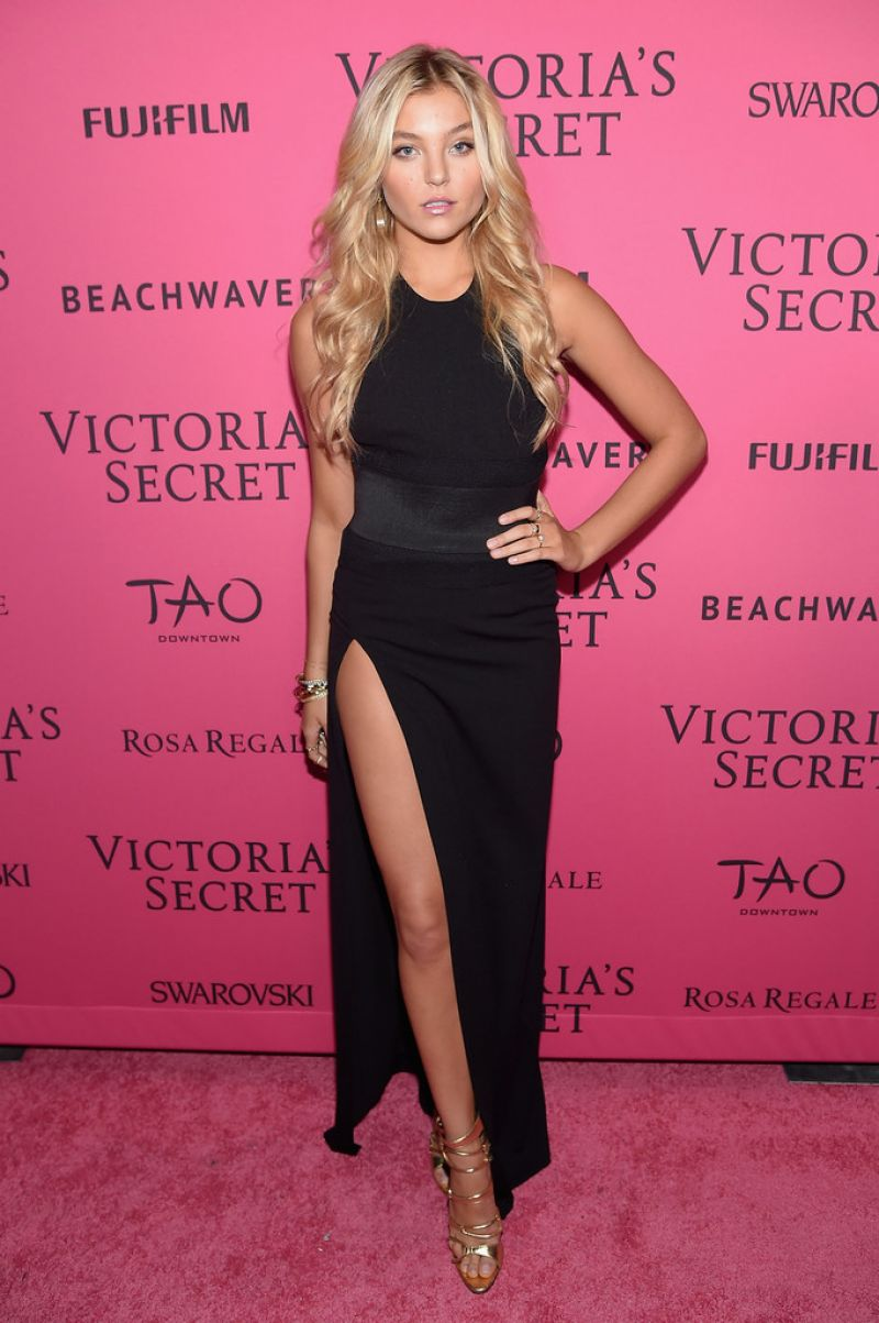 RACHEL HILBERT at Victoria's Secret 2015 Fashion Show After Party in New York 11/10/2015
