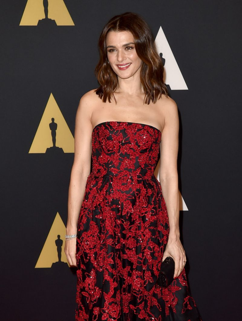 RACHEL WEISZ at 7th Annual Governors Awards in Hollywood 11/14/2015