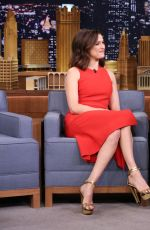 RACHEL WEISZ at The Tonight Show with Jimmy Fallon in New York 11/19/2015