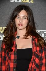 RAINEY QUALLEY at 2015 American Music Awards Radio Row, Day 2 in Los Angeles 11/21/2015