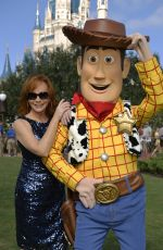 REBA MCENTIRE at Disney Parks Unforgettable Christmas Celebration Taping in Lake Buena Vista 11/11/2015
