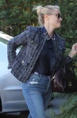 REESE WITHERSPOON Arrives at a Studio in Santa Monica 11/03/2015