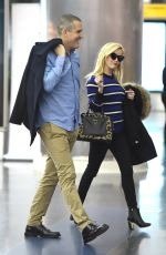 REESE WITHERSPOON Arrives at JFK Airport in New York 11/08/2015