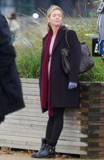 RENEE ZELLWEGER on the Set of New Bridget Jones Movie in London 11/06/2015