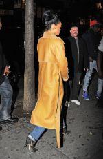 RIHANNA Aarrives at Sono Nightclub in New York 11/21/2015