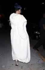RIHANNA Leaves Giorgio Baldi Restaurant in Santa Monica 11/11/2015