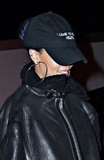 RIHANNA Night Out in New York 11/19/2015
