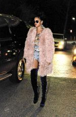 RIHANNA Out and About in New Jersey 11/20/2015