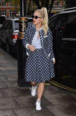 RITA ORA Arrives at Kiss FM Studios in London 11/05/2015