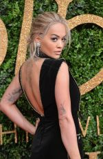 RITA ORA at 2015 British Fashion Awards in London 11/23/2015