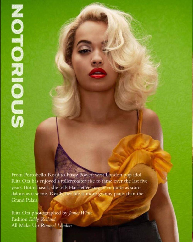 RITA ORA in Wonderland Magazine
