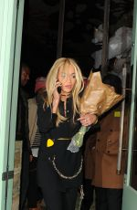 RITA ORA Leaves Sexy Fish Restaurant in London 11/24/2015