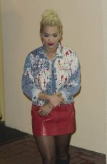 RITA ORA Leaves X Factor Studios in London 11/01/2015