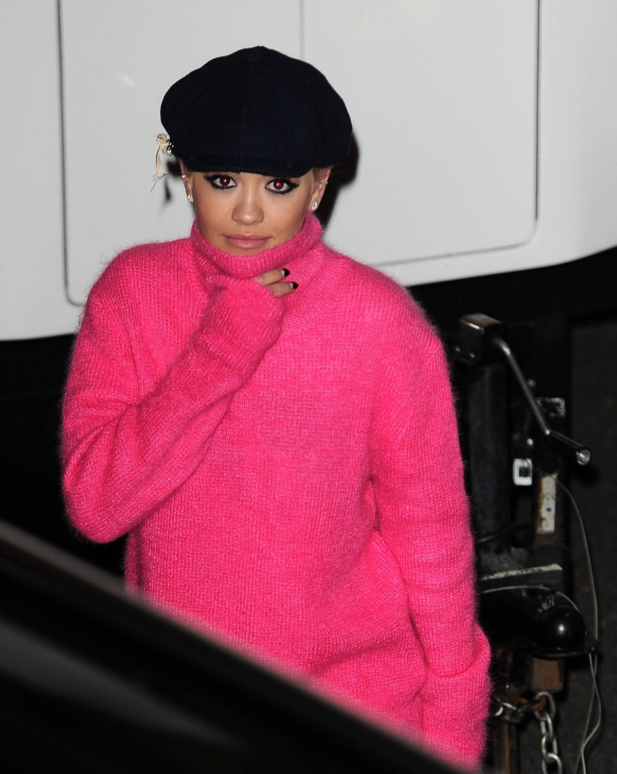 RITA ORA Leaves X Factor Studios in London 11/21/2015