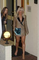 RITA ORA Leaving X Factor Studios in London 11/15/2015
