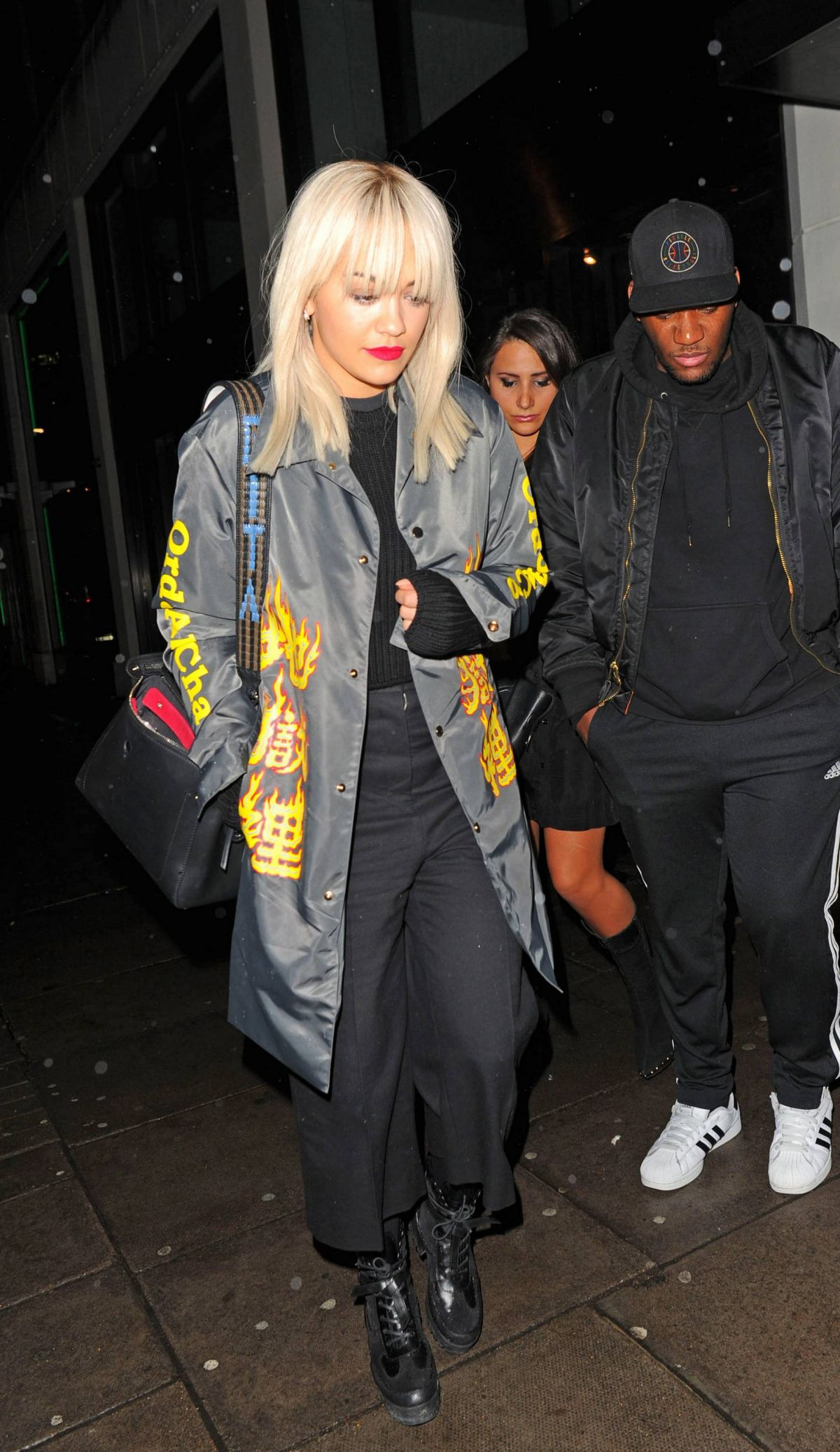 RITA ORA Out and About in London 11/16/2015