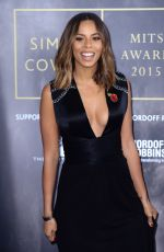ROCHELLE HUMES at Music Industry Trust Awards in London 11/02/2015