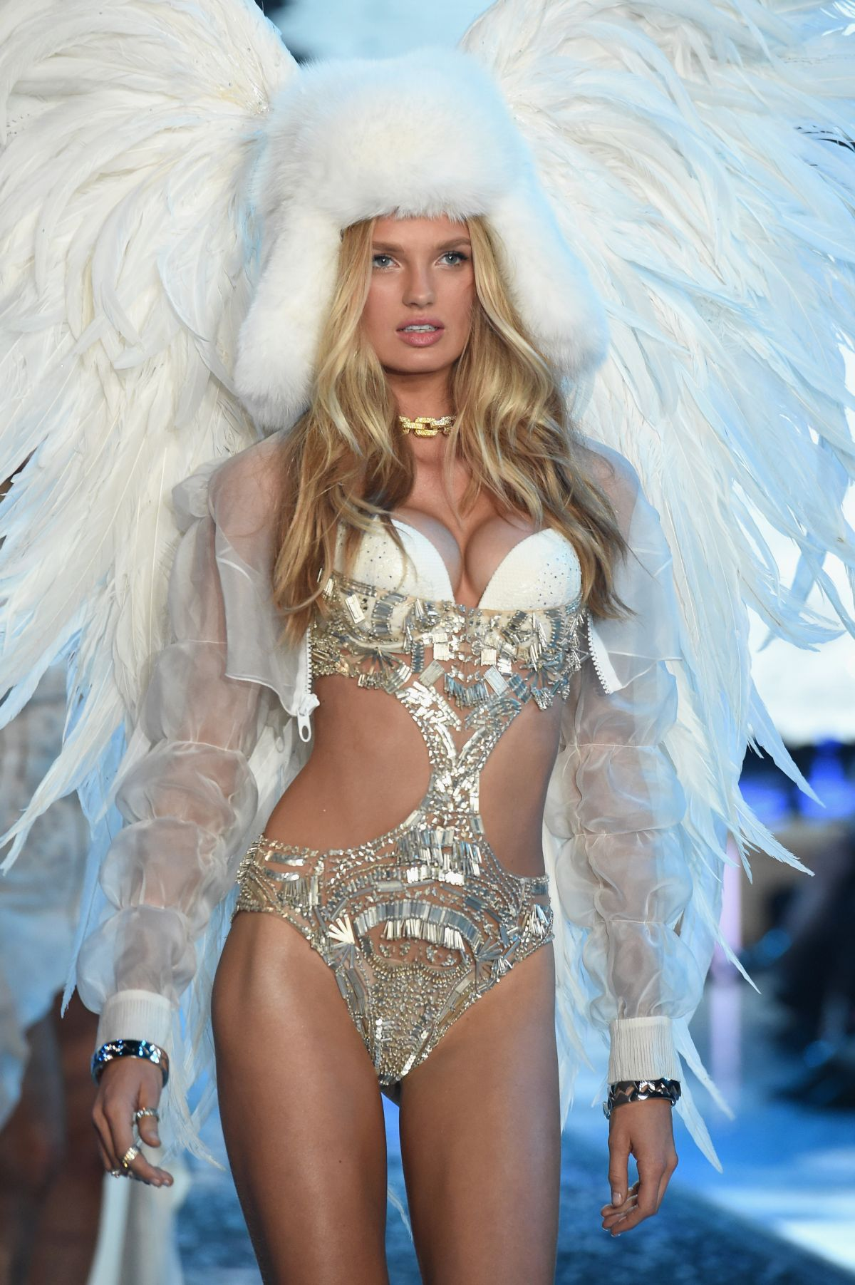 ROME STRIJD at Victoria's Secret 2015 Fashion Show in New York 11/10/2015