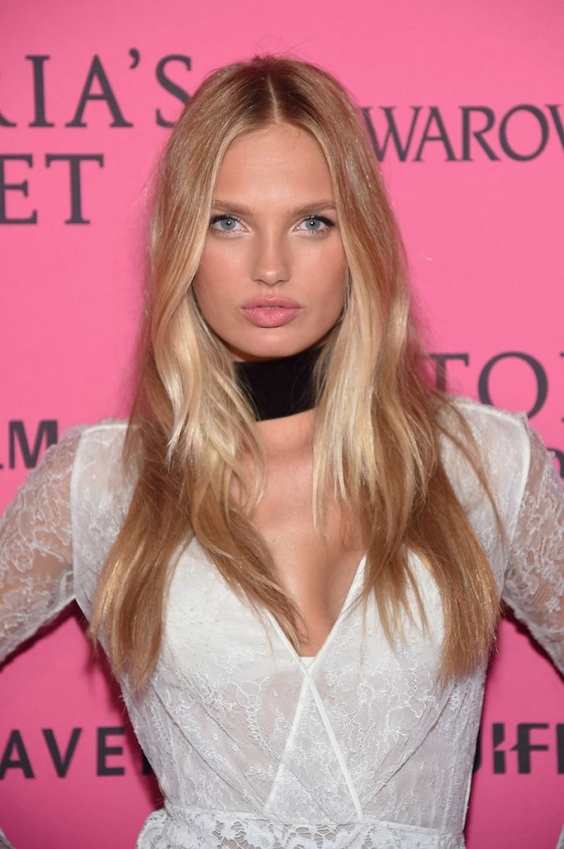 ROMEE STRIJD at Victoria's Secret 2015 Fashion Show After Party 11/10/2015