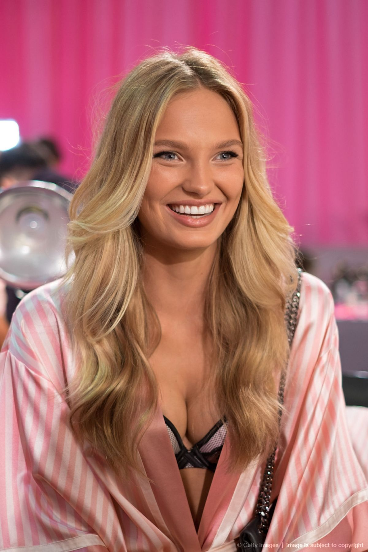 RONE STRIJD at Victoria's Secret 2015 Fashion Show Backstage in New York 11/10/2015