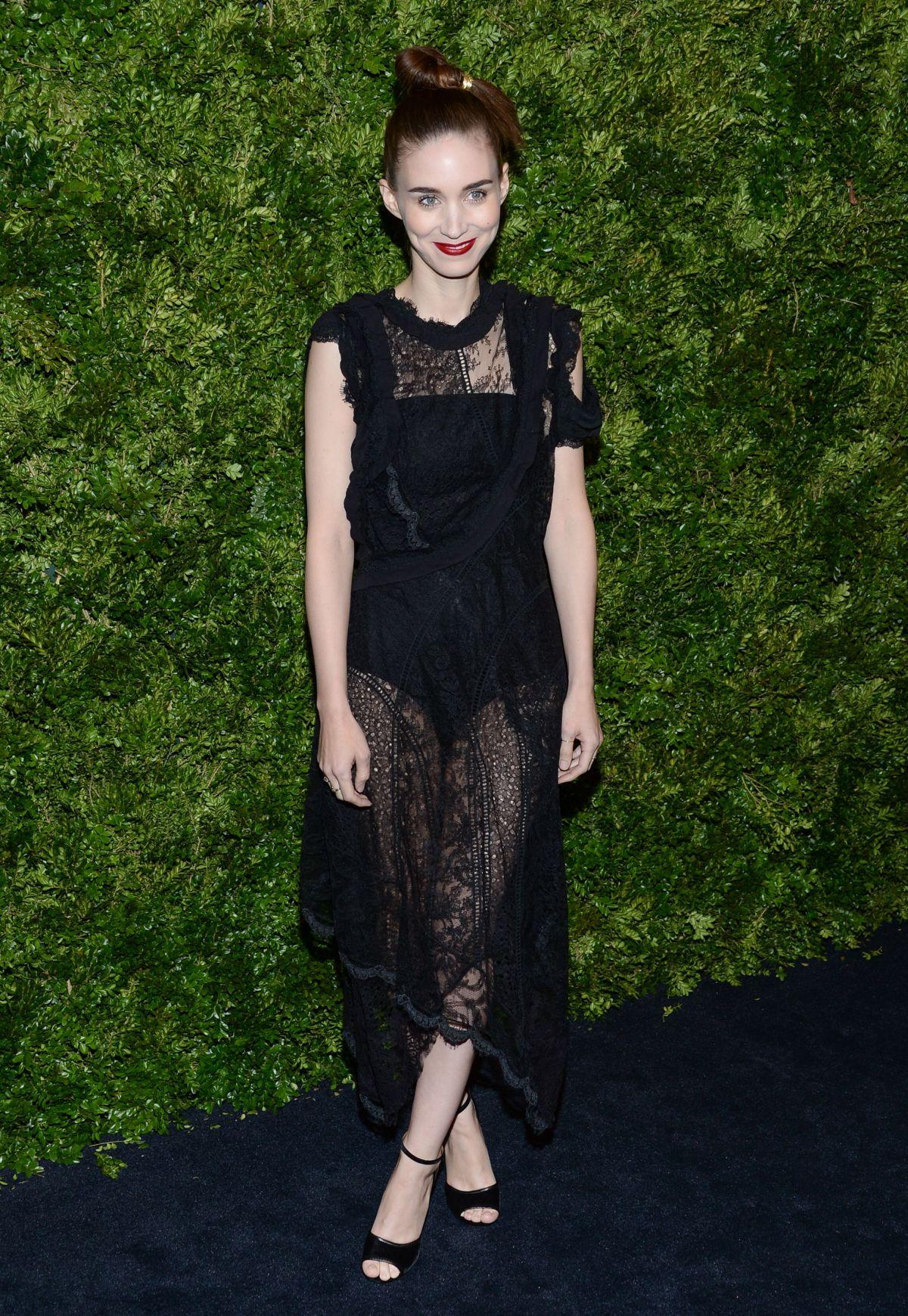 ROONEY MARA at Museum of Modern Art Film Benefit Honoring Cate Blanchett in New York 11/17/2015