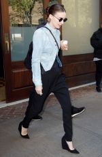 ROONEY MARA Out and About in New York 11/16/2015