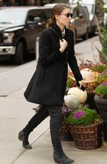 ROONEY MARA Out and About in New York 11/19/2015