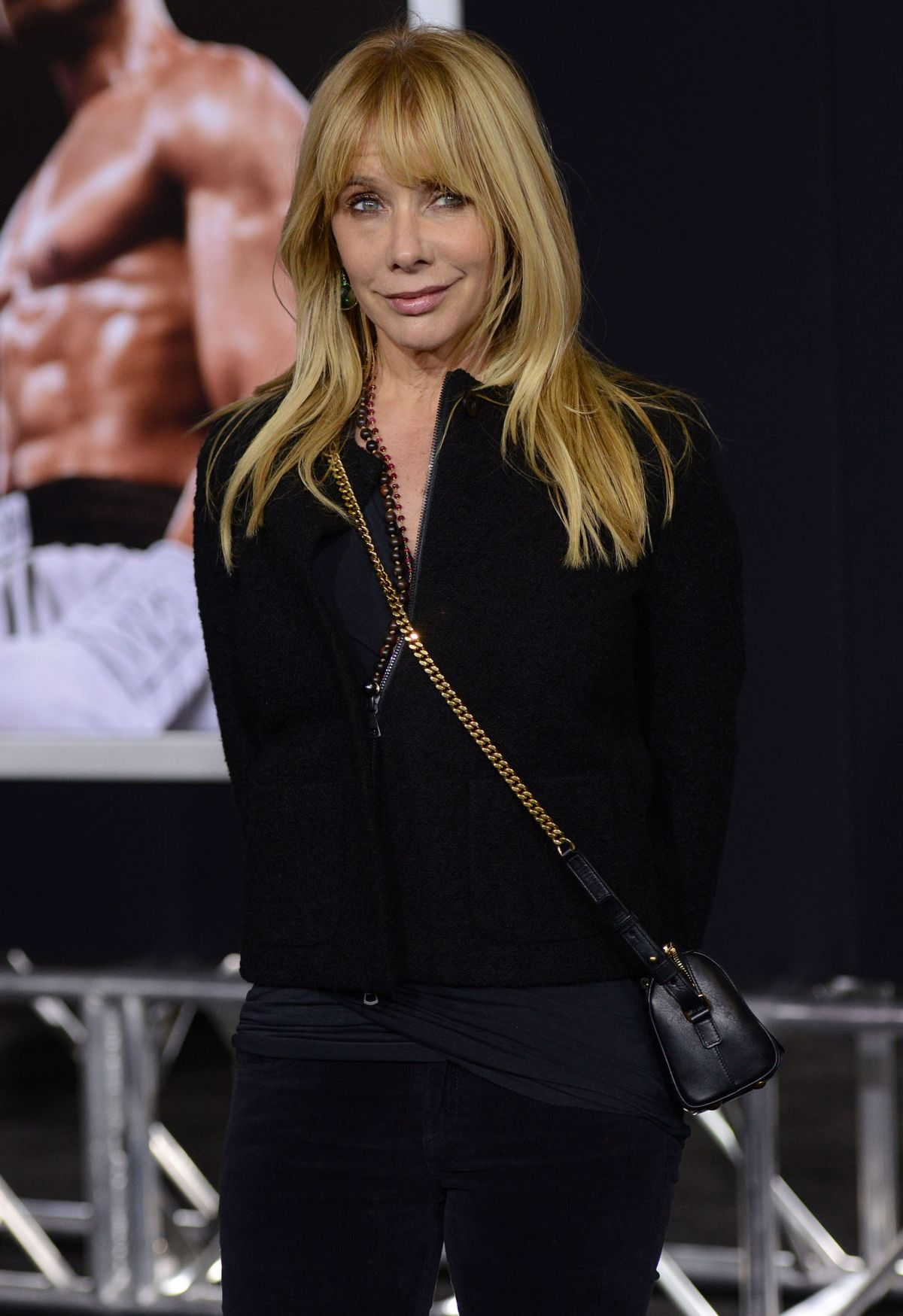 ROSANNA ARQUETTE at Creed Premiere in Westwood 11/19/2015