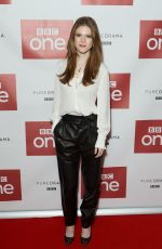 ROSE LESLIE at Luther Photocall at Picturehouse Central in London 11/12/2015