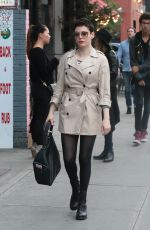ROSE MCGOWAN Out and About in New York 11/06/2015