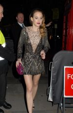 ROSIE FORTESCUE at 2015 British Fashion Awards in London 11/23/2015