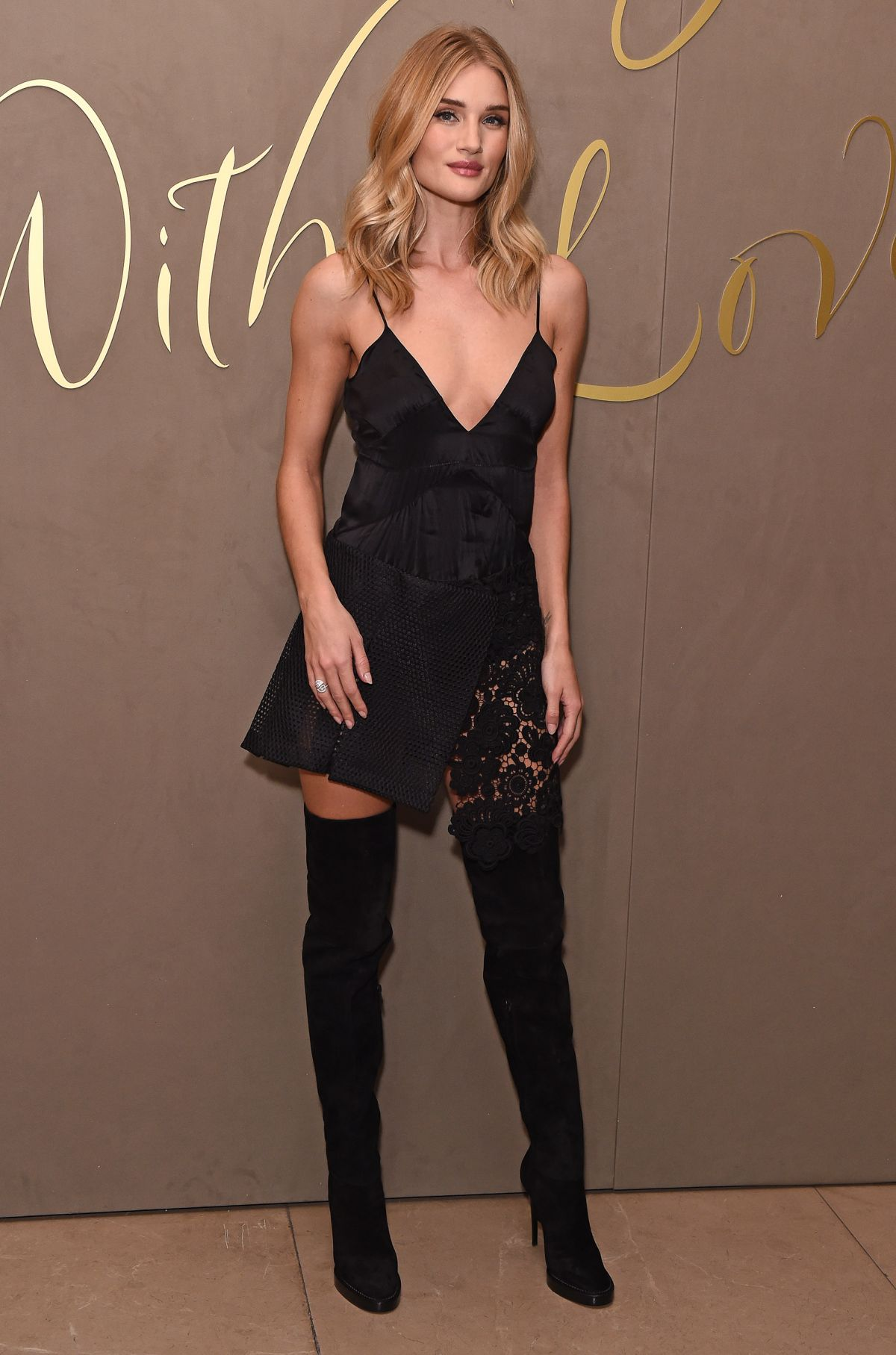 ROSIE HUNTINGTON-WHITELEY at Burberry Festive Film Premiere in London ...