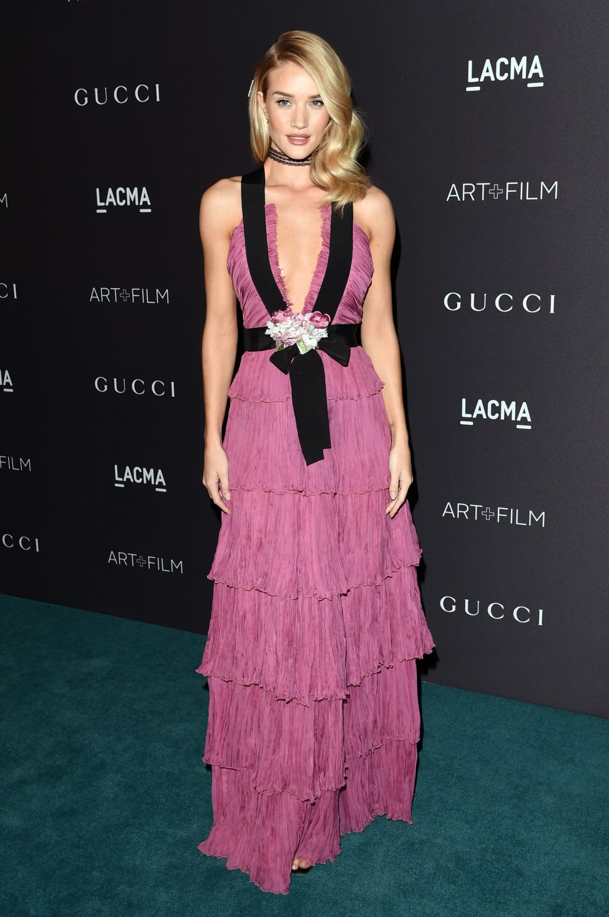 ROSIE HUNTINGTON-WHITELEY at LACMA 2015 Art+Film Gala Honoring James Turrell and Alejandro G Inarritu in Los Angeles 11/07/2015