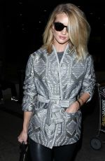 ROSIE HUNTINGTON-WHITELEY at LAX Airport in Los Angeles 11/24/2015
