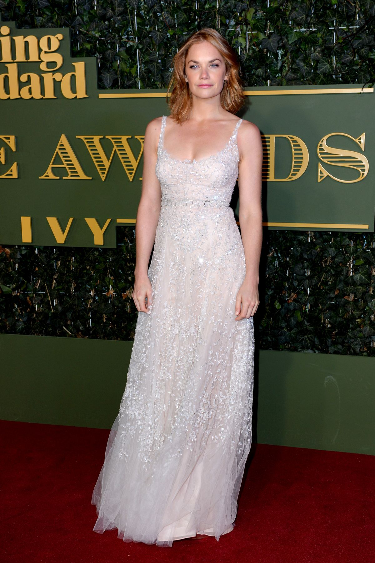 RUTH WILSON at Evening Standard Theatre Awards in London 11/22/2015