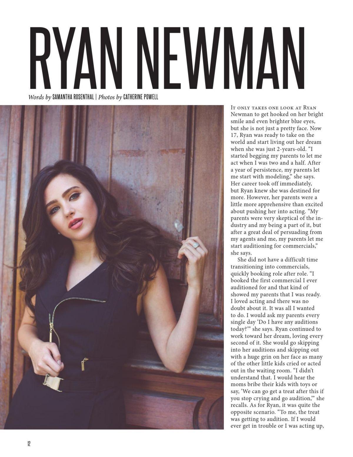 RYAN NEWMAN in NKD Magazine, November 2015 Issue
