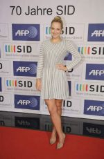 SABINE LISICKI at 70 Years Sid Celebration in Cologne 10/29/2015