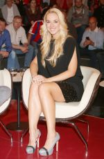 SABINE LISICKI at ZDF Talkshow in Hamburg  11/04/2015