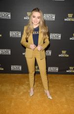SABRINA CARPENTER at American Music Awards 2015 Radio Row, Day 2 in Los Angeles 11/21/2015