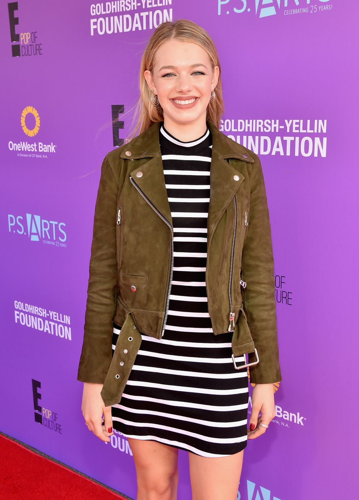 SADIE CALVANO at P.S. Arts Presents Express Yourself 2015 in Santa Monica 11/15/2015